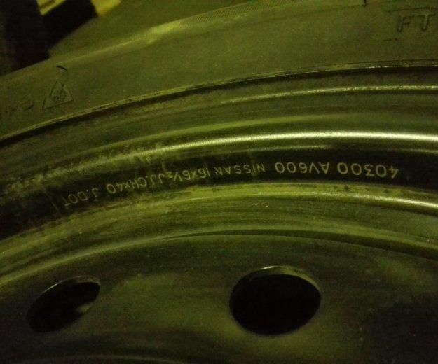 Продам комплект колёс от nissan teana. Фото 3. Москва.
