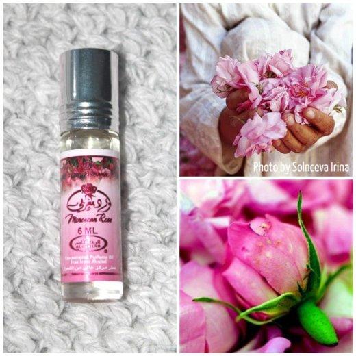 Maroccan rose парфюмерные масляные духи. Фото 1. Санкт-Петербург.