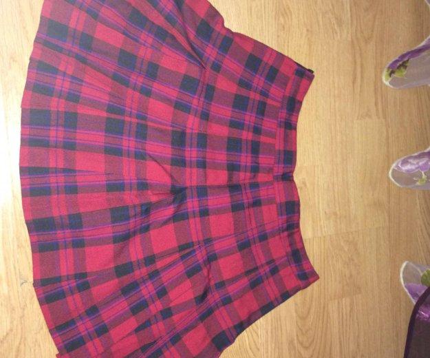 Клетчатая юбка. Фото 1. Саратов.