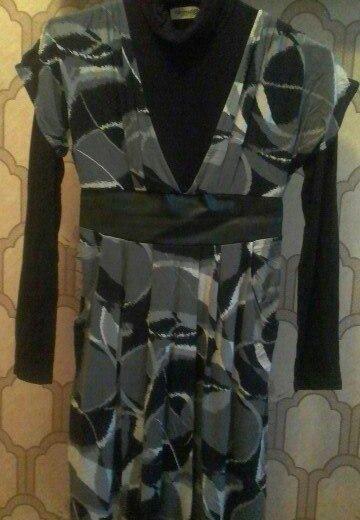 Платье-водолазка. Фото 1. Сергиев Посад.