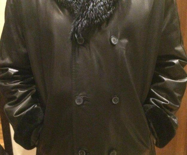 Куртка мужская зимняя de niro кожаная. Фото 1. Москва.