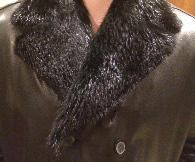 Куртка мужская зимняя de niro кожаная. Фото 2. Москва.