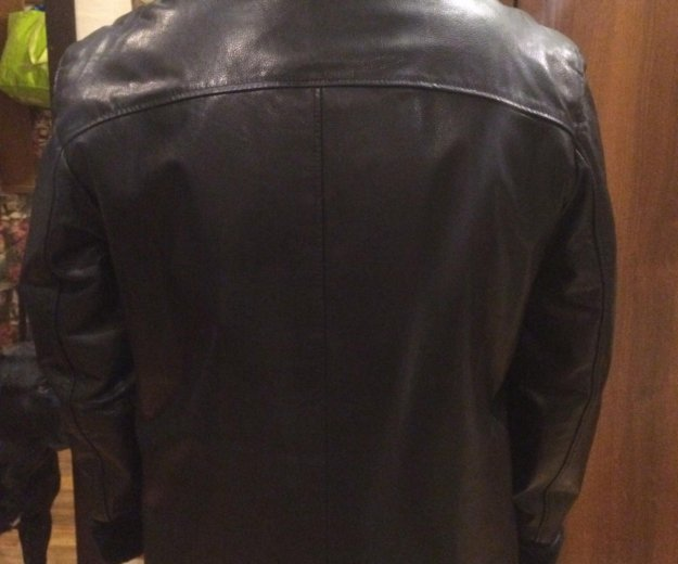 Куртка мужская зимняя de niro кожаная. Фото 4. Москва.