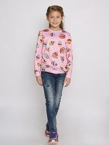 Новые модные джемпера на девочек. Фото 4. Видное.