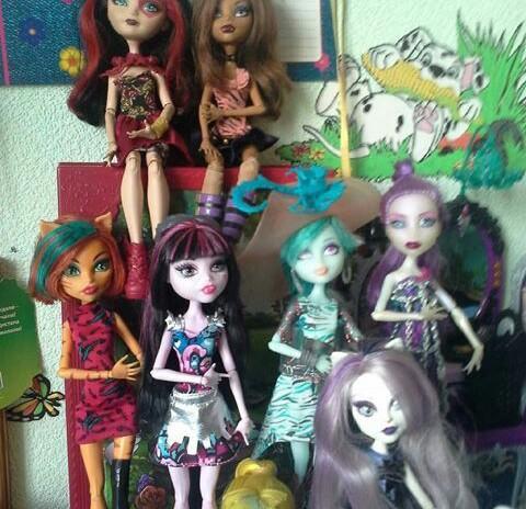 Куклы монстер хай. Фото 1.