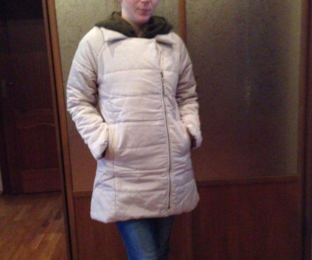 Куртка пуховик демисезонная размер 42-44. Фото 1. Котельники.