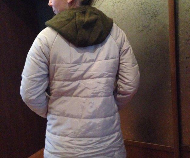 Куртка пуховик демисезонная размер 42-44. Фото 2. Котельники.