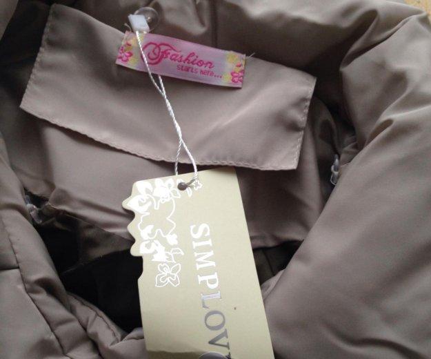 Куртка пуховик демисезонная размер 42-44. Фото 4. Котельники.