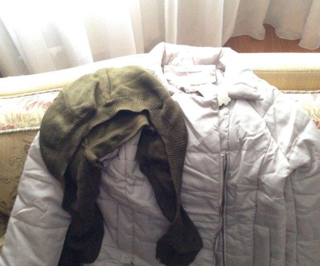 Куртка пуховик демисезонная размер 42-44. Фото 3. Котельники.