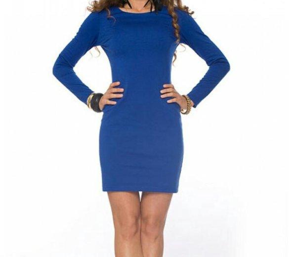 Синее платье. Фото 1. Москва.
