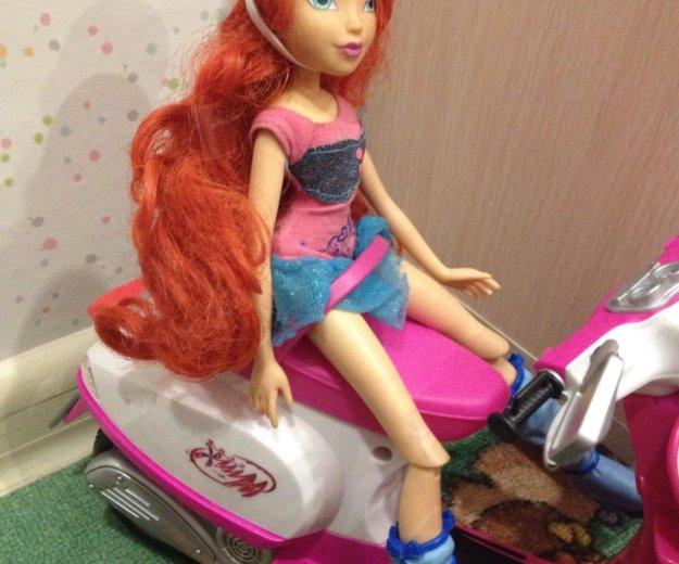Кукла winx на скутере. Фото 1. Москва.