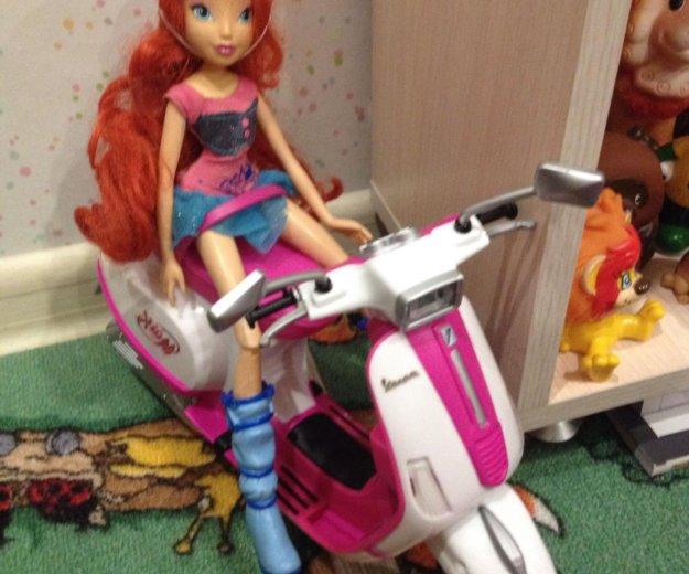 Кукла winx на скутере. Фото 2. Москва.