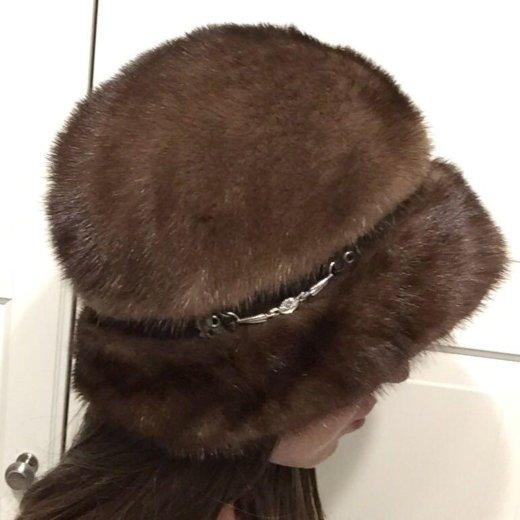 Норковая шапка. Фото 1. Москва.
