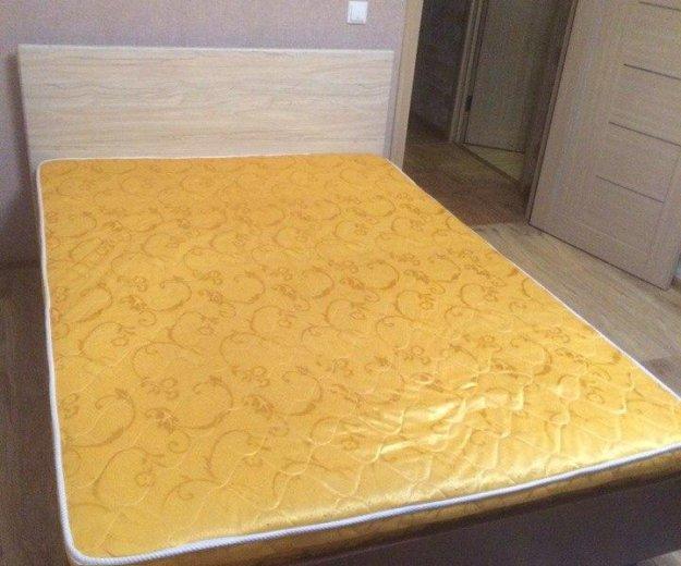 Кровать с матрасом б/у, 140/200. Фото 1. Балашиха.