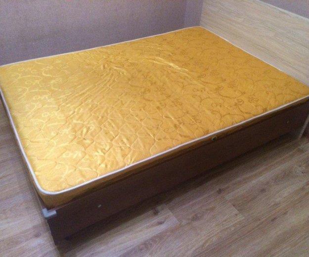 Кровать с матрасом б/у, 140/200. Фото 2. Балашиха.