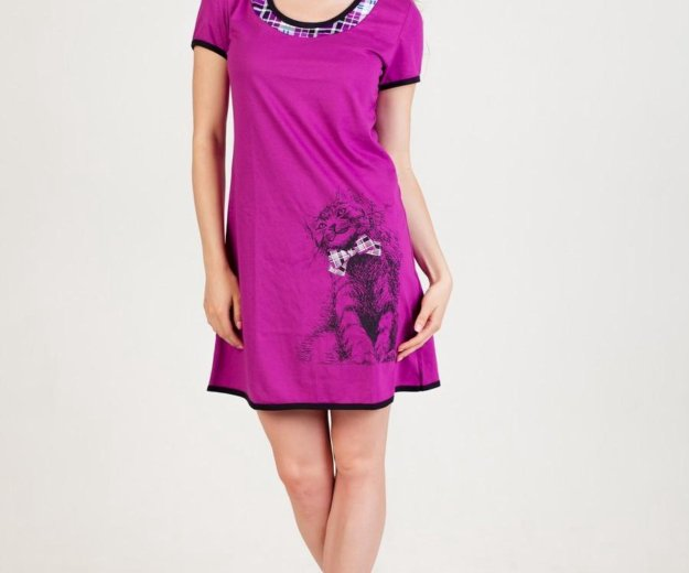 Платье домашнее кошечка. Фото 1. Краснодар.