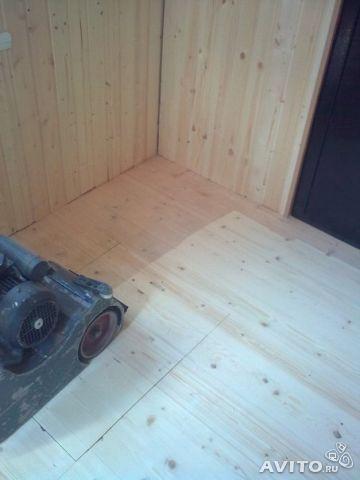 Шлифовка деревянных полов. Фото 3. Буинск.