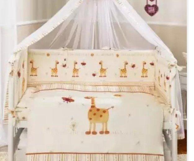 Комплект постельного белья из 7 предметов. Фото 1. Москва.