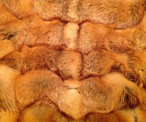 Шуба из лисы поперечка. Фото 2. Подольск.