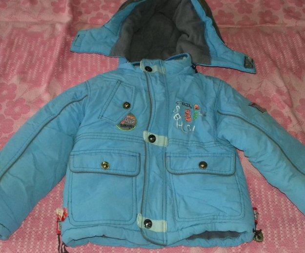 Детская зимняя куртка+ полукомбинезон. Фото 3. Астрахань.