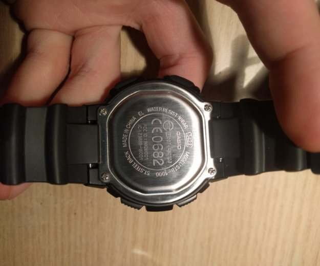 Электронные часы casio bluetooth stb-100. Фото 2. Москва.