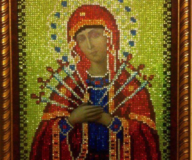 Икона божьей матери семистрельная. Фото 4. Апрелевка.