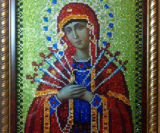 Икона божьей матери семистрельная. Фото 2. Апрелевка.