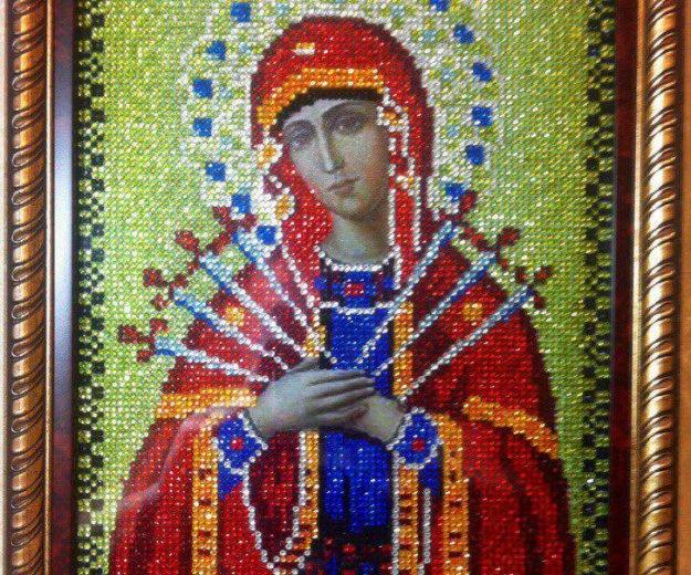 Икона божьей матери семистрельная. Фото 1. Апрелевка.