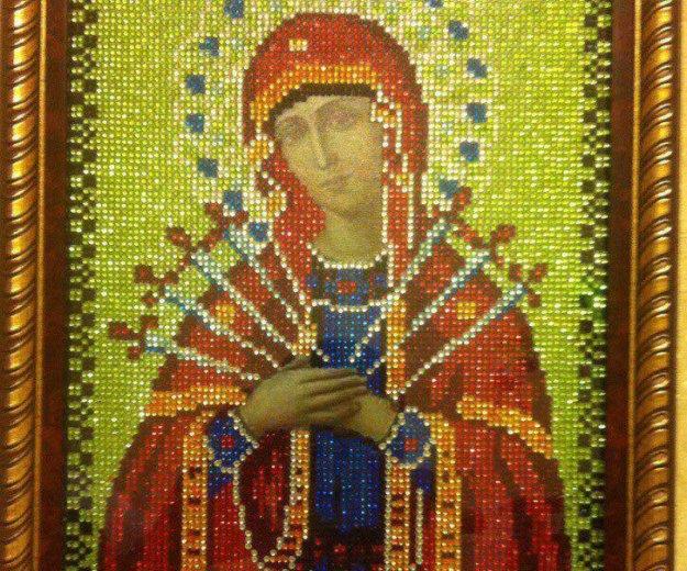 Икона божьей матери семистрельная. Фото 3. Апрелевка.