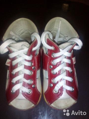 Ортопедические ботиночки б/у. Фото 2. Балашиха.