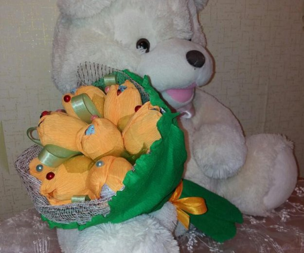 Подарок букет из киндаров. Фото 1. Пермь.