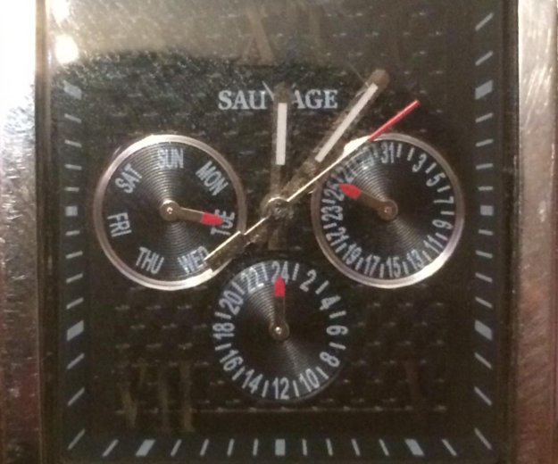 Часы sauvage. Фото 2. Анапа.