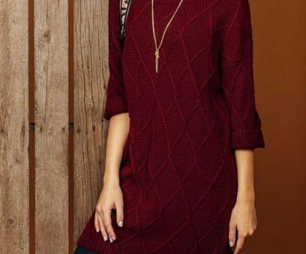 Платье-свитер кира пластинина с биркой размер 52р. Фото 2. Санкт-Петербург.