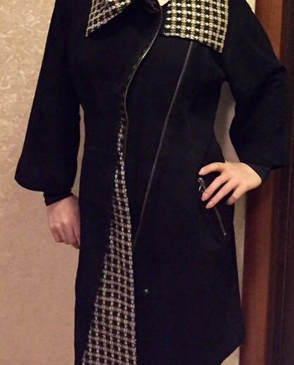 Замшевое пальто. Фото 1. Москва.
