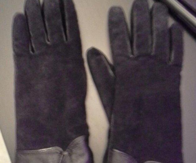 Кожаные перчатки женские. Фото 1. Москва.