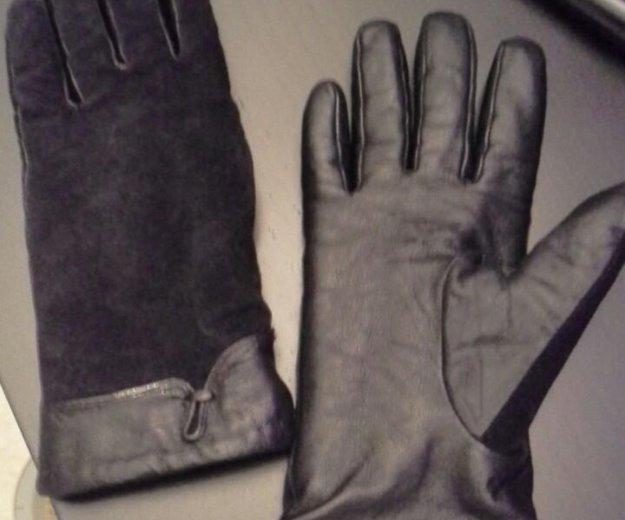 Кожаные перчатки женские. Фото 2. Москва.