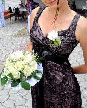 Платье кружевное. Фото 1. Долгопрудный.