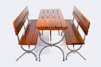 Стол и 2 лавки. Фото 1. Пенза.