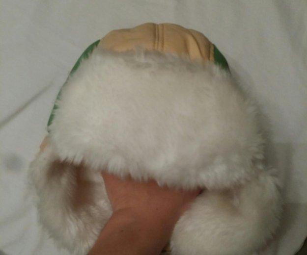 Зимняя теплая шапка на мальчика новая с мехом 48. Фото 3. Санкт-Петербург.