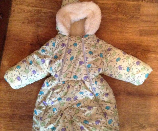 Зимний детский комбинезон трансформер. Фото 1. Иваново.