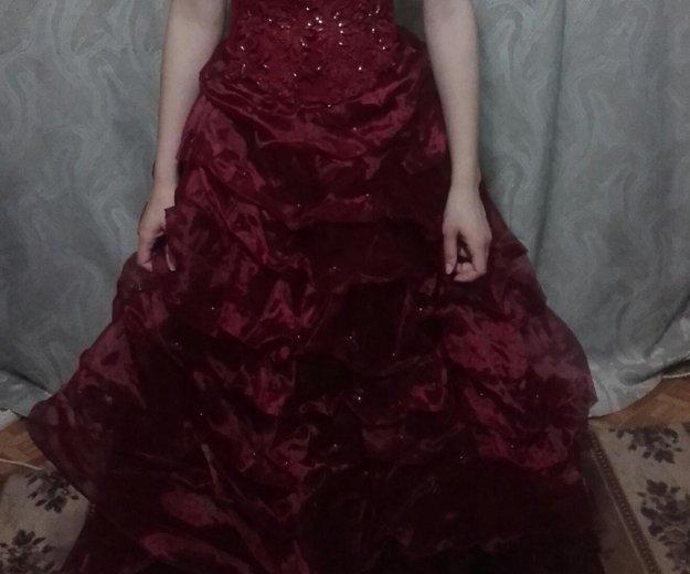 Выпускное платье. Фото 1. Энгельс.