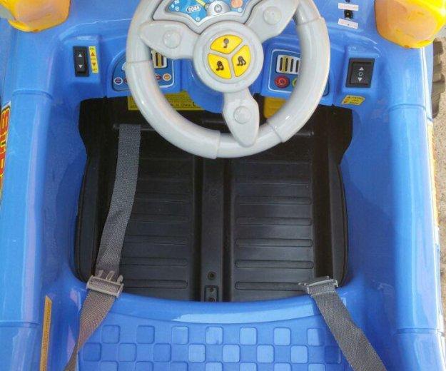 """Новый электромобиль """"super jeep"""" с пульт. управлен. Фото 2. Краснодар."""