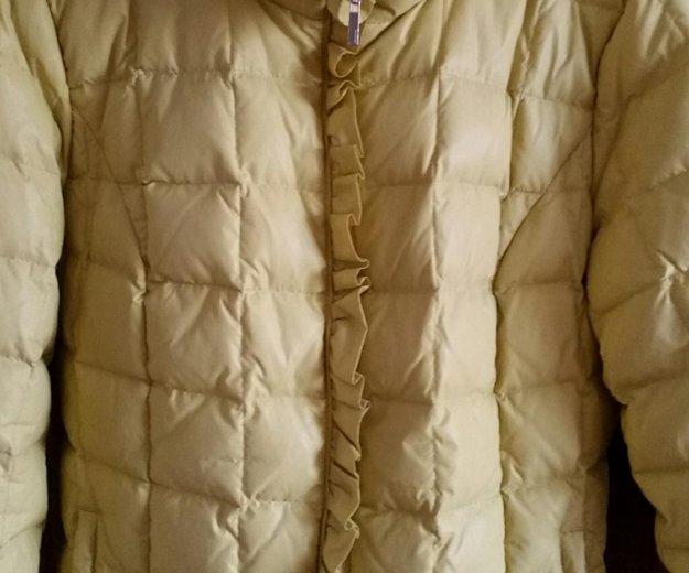 Куртка -пуховик женская. Фото 1. Москва.