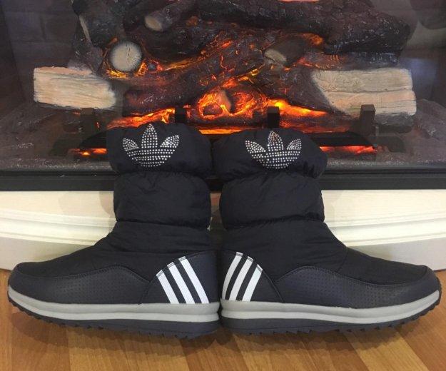 Дутики adidas, сапожки зимние. Фото 1. Санкт-Петербург.