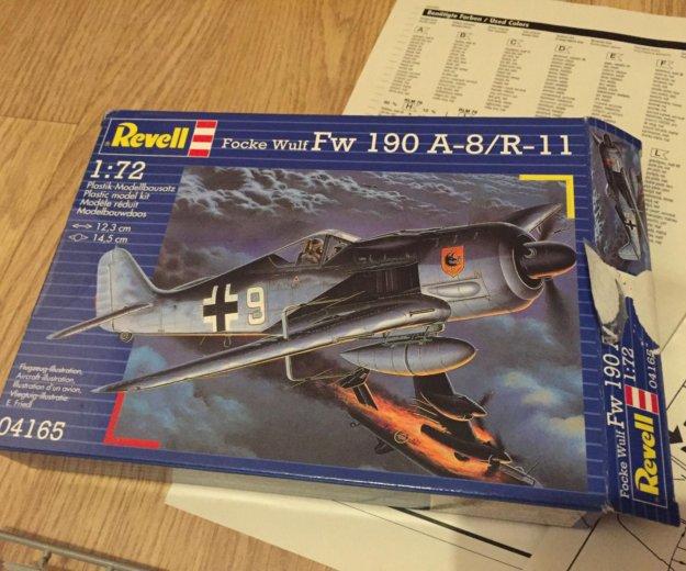 Revell focke wulf fw 190 a8/r11. Фото 4. Москва.