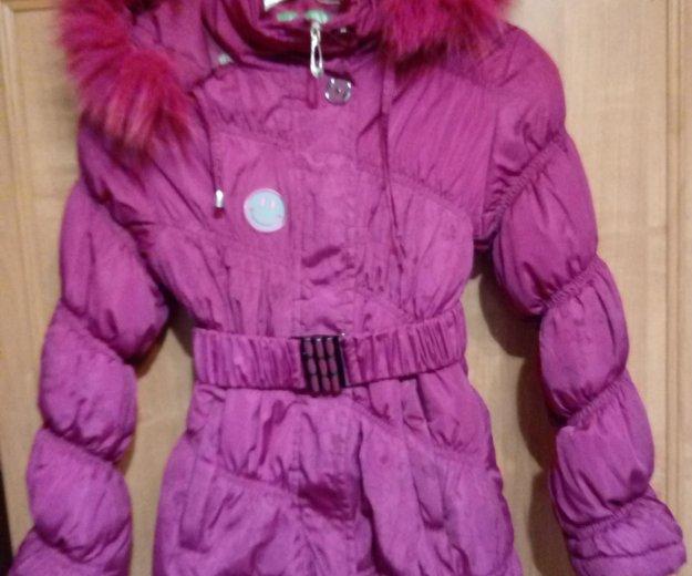 Зимня куртка для девочки. Фото 1.