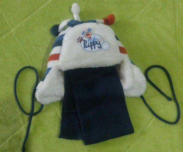 Комплект шапка+шарф. Фото 1. Свободы.