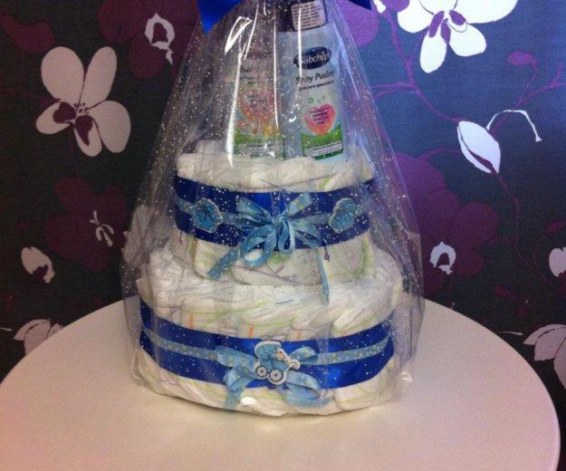 Торт из памперсов на заказ. Фото 1. Владимир.