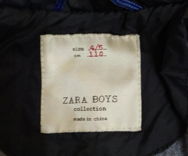 Zara 104-110. Фото 2.