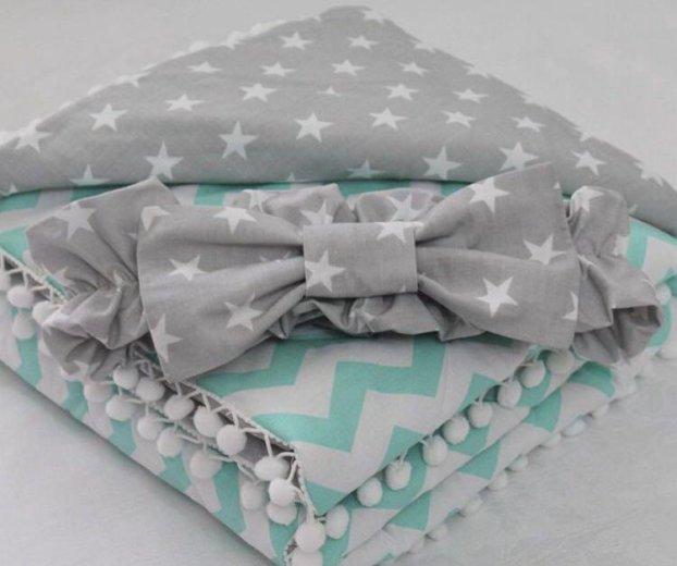 Одеяло на выписку, бортики в кроватку. Фото 4. Сочи.